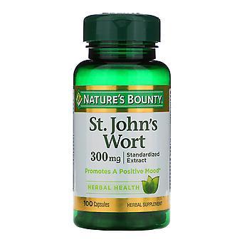 Nature's Bounty, St. John's Wort, 300 mg, 100 kapslar