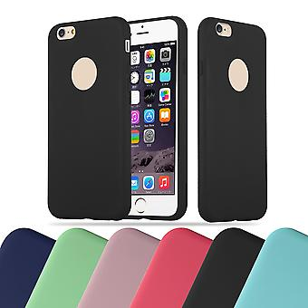 Cadorabo Case for Apple iPhone 6 / iPhone 6S Case Cover - Flexible TPU Silicone Case Ultra Slim Soft Back Cover Case Bumper