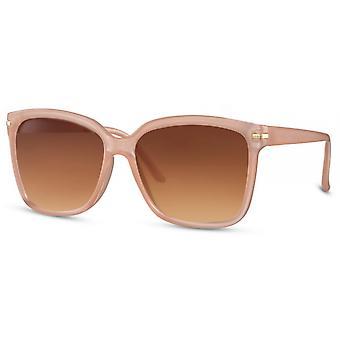 النظارات الشمسية النساء wayfarer كات. 3 وردي / بني