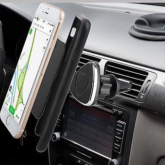 إينفينتكاسي الهواء تنفيس جبل قصاصة الوقوف المغناطيسي الهاتف المحمول حامل سيارة إيفون 7 (4.7 بوصة)