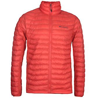 Columbia Red Powder Pass Padded Jacket