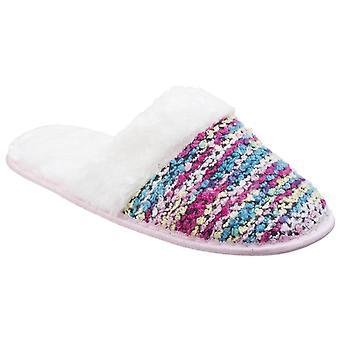 Divaz women's salzburg knitted mule slipper various colours 25586