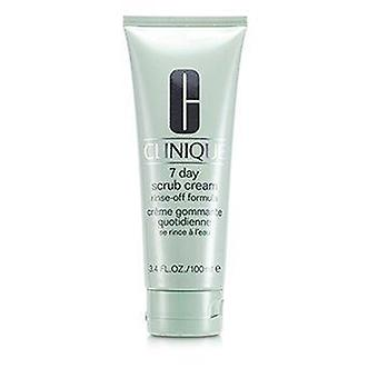 7 Day Scrub Cream Rinse Off Formula 100ml or 3.4oz
