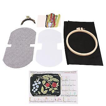 8.5cm Ram bredd Hand broderi Kit för flickor Present