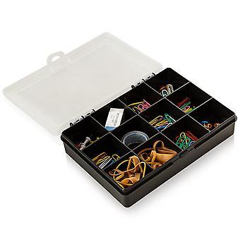 Wham opslag 19cm (2,03) organisator doos met 12 divisies