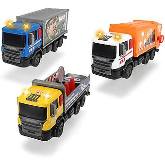 Dickie Toys Scania City Team Truck Sortiment - 1 Furnizat la întâmplare