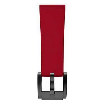 Watch Strap Marc Coblen MCSR-B485C Red