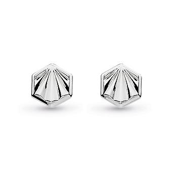 Kit Heath Empire Deco Hexagonal Stud Pendientes 40404RP029