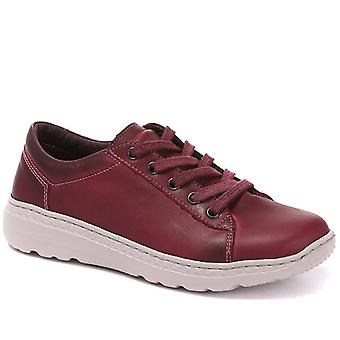 On Foot Womens Lightweight Lace-Up Trainer