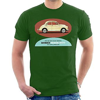 Morris Minor 1000 Its The Car Called Success British Motor Heritage Men's T-Shirt