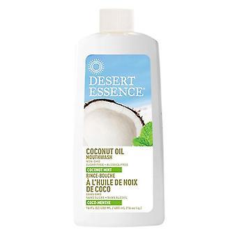Desert Essence Coconut Oil Mouthwash, Coconut Mint, 16 Oz