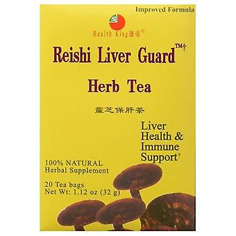 Health King Reishi Liver Guard Tea, 20bg