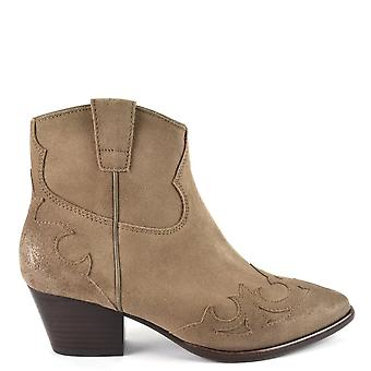 Ash Footwear Harlow Suede Brushed Ankle Boots Wilde