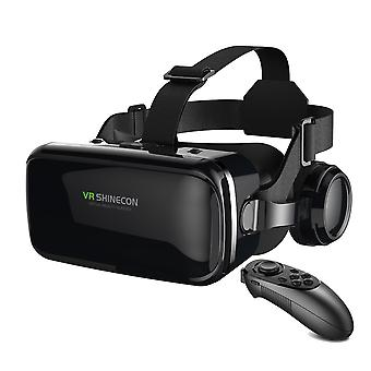 Vr Shinecon 6.0 Virtual Reality 3d Glasses With Control