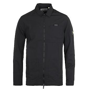 Lyle & Scott Ripstop Nylon Jet Black Overshirt