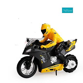 Self-balancing Rc Motorcycle With 6 Axis Of Gyroscope Stunt Racing Motorcycle