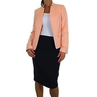 Women's Blazer and Skirt Suit Ladies Special Occasion Elegant Brocade Open Front Jacket Co-ord Matching Suit