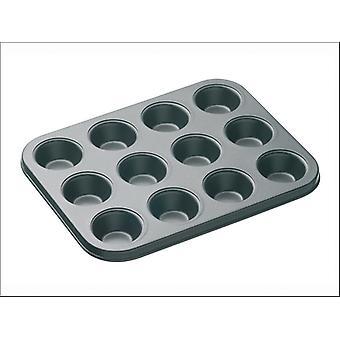 Kitchen Craft Master Class Non Stick Mini Tart Pan 12 hole KCMCHB17
