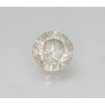 Zertifiziert 2.07 Karat I SI3 Runde Brilliant Enhanced Natural Loose Diamond 7.63mm