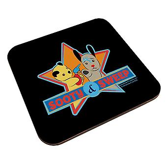Sooty And Sweet Water Fight Coaster