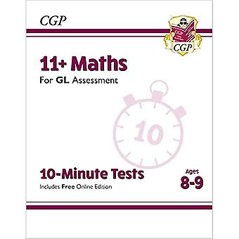 New 11+ GL 10-Minute Tests: Maths - Ages 8-9 (with Online Edition)