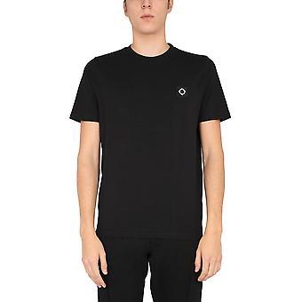 Ma.strum Mas8352m000 Men's Black Cotton T-shirt