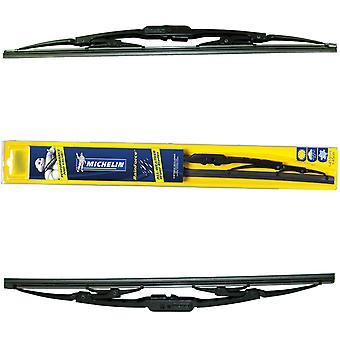 """Michelin Rainforce Traditionelle Wiper Blades Paar 15""""/24"""" für Honda CIVIC 01-05"""