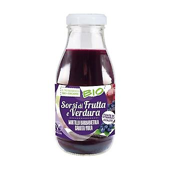 Purple - blueberry beet and purple carrot 250 ml