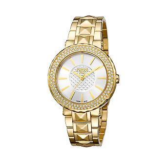 Ferre Milano FM1L058M0071 Gold watch/band with silver dial