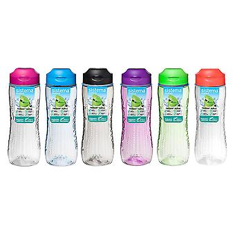 Sistema Tritan Active Bottle 800ml Pink