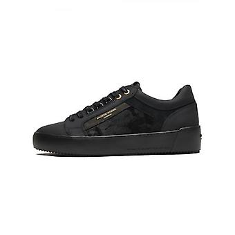 Android Homme Black Goma Leather Camo Suede Venice Sneaker