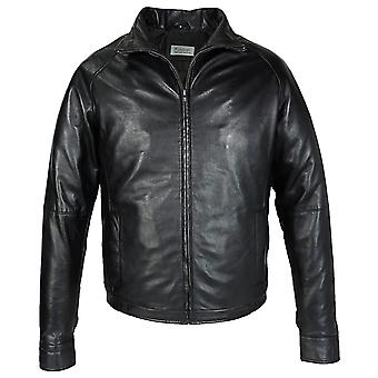 Mens Leather Jacket With Filler Lining
