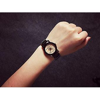 Men Women Stainless Steel Fashion Pair Montres Horloge