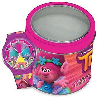 Disney watch trolls - tin box 504602