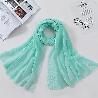 Frauen Muslimische Crinkle Hijab Schal