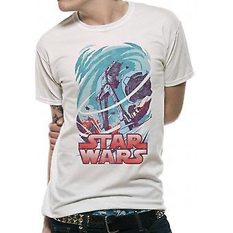 Star Wars voksne unisex voksne Hoth vintage design T-shirt