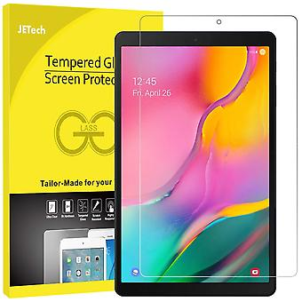 Jetech screen protector for galaxy tab a 10.1 2019 (sm-t510/t515), tempered glass film