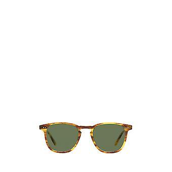 Garrett Leight BROOKS SUN pinewood unisex sunglasses