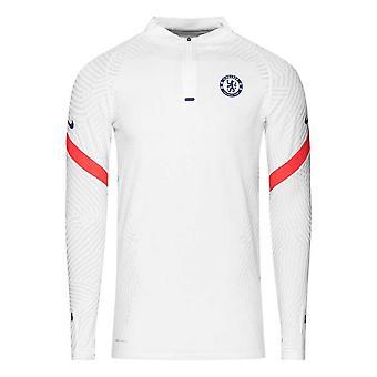 2020-2021 Chelsea CL Vapor Knit Strike Drill Training Top (Bianco)