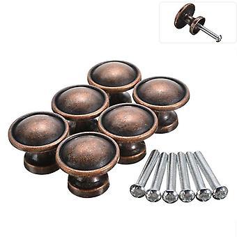 Door Knob - Round Shaped, Copper Cabinet Handles