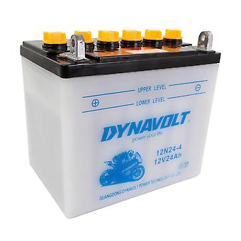 Dynavolt 12N244 Conventional Dry Charge Battery With Acid Pack