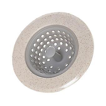 Silicone Kitchen Sink Strainer Stopper Drain Hole Bathroom Drain Hair Catcher
