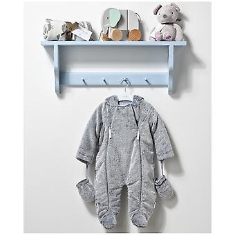 The Essential One Unisex Baby Pramsuit - Grey