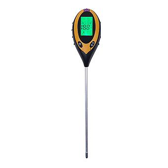 Digital Ph Meter Jord, Fugt Monitor Meter Temperatur, Sollys Intensitet