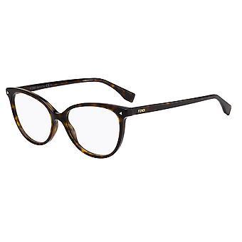 فندي FF0351 086 هافانا الظلام نظارات