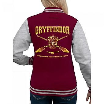 Harry Potter Womens/Ladies Gryffindor Collegiate Varsity Jacket