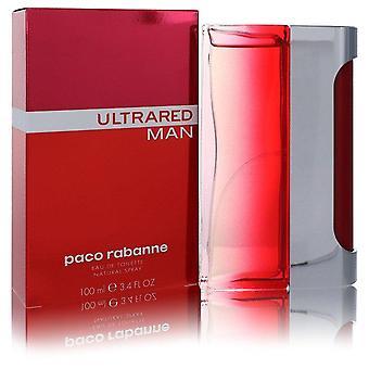 Ultrared Eau De Toilette Spray von Paco Rabanne 3,4 Oz Eau De Toilette Spray