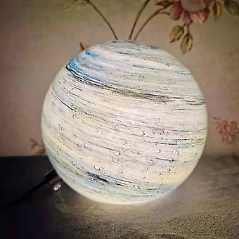 Moon Planet lampa, 3D Print LED Moon Light Lamp Touch Control för heminredning och gåvor