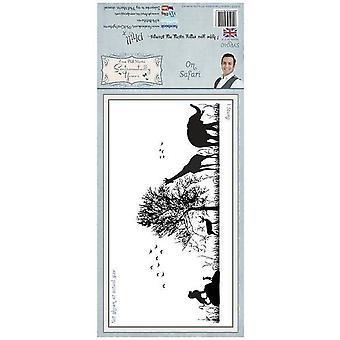 Sentimentally Yours On Safari Pre Cut Stamp Set