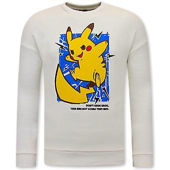 Pikachu Sweater - White